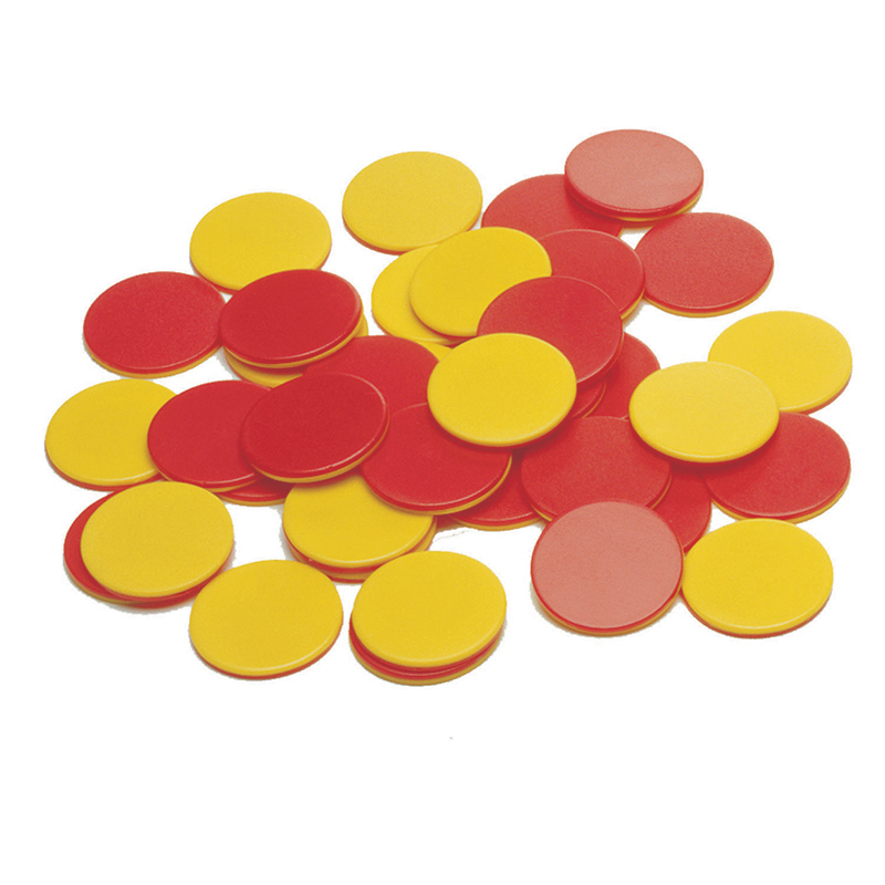 Two Color Plastic Counters 200/st