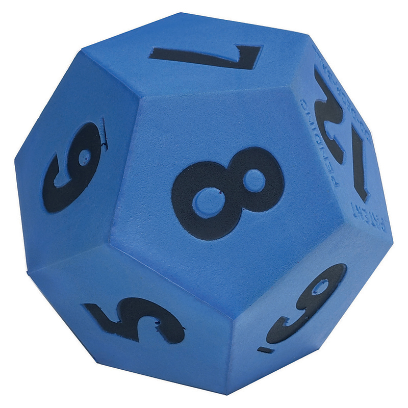 Jumbo 12-Sided Foam Die