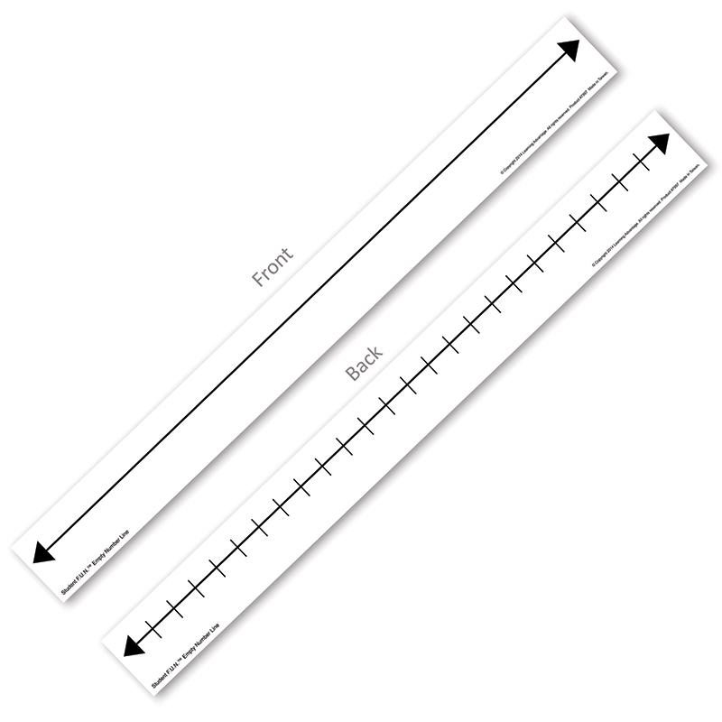 Student F.u.n. 10 Set Empty Number Lines