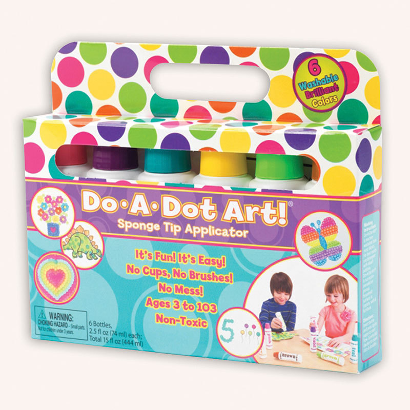 Do-a-dot Art® Do-A-Dot Art Washable Brilliant 6pk