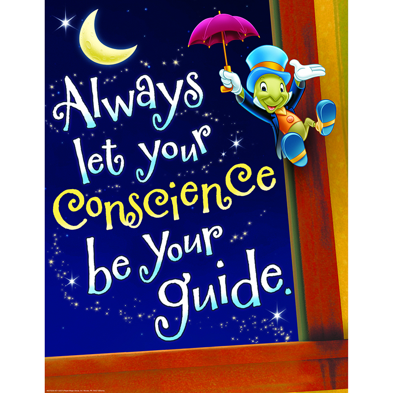 Pinocchio Conscience 17x22 Poster