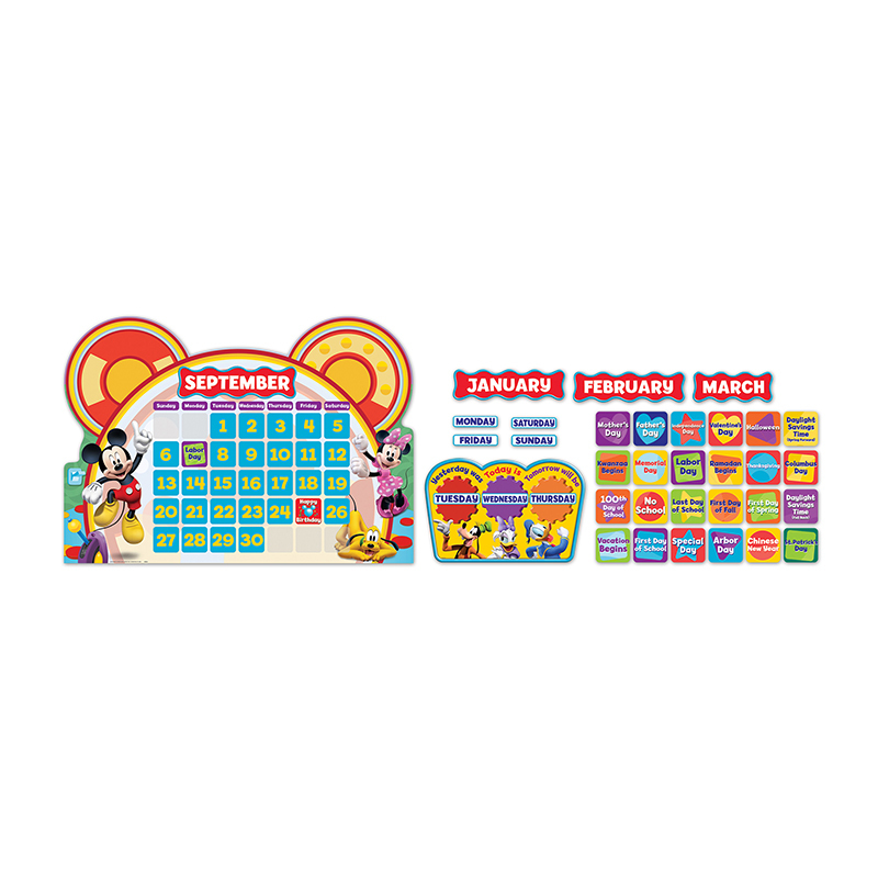 Mickey Mouse Clubhouse Calendar Set