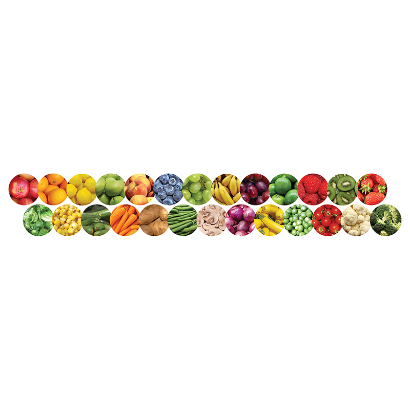 Fruits And Veggies Border