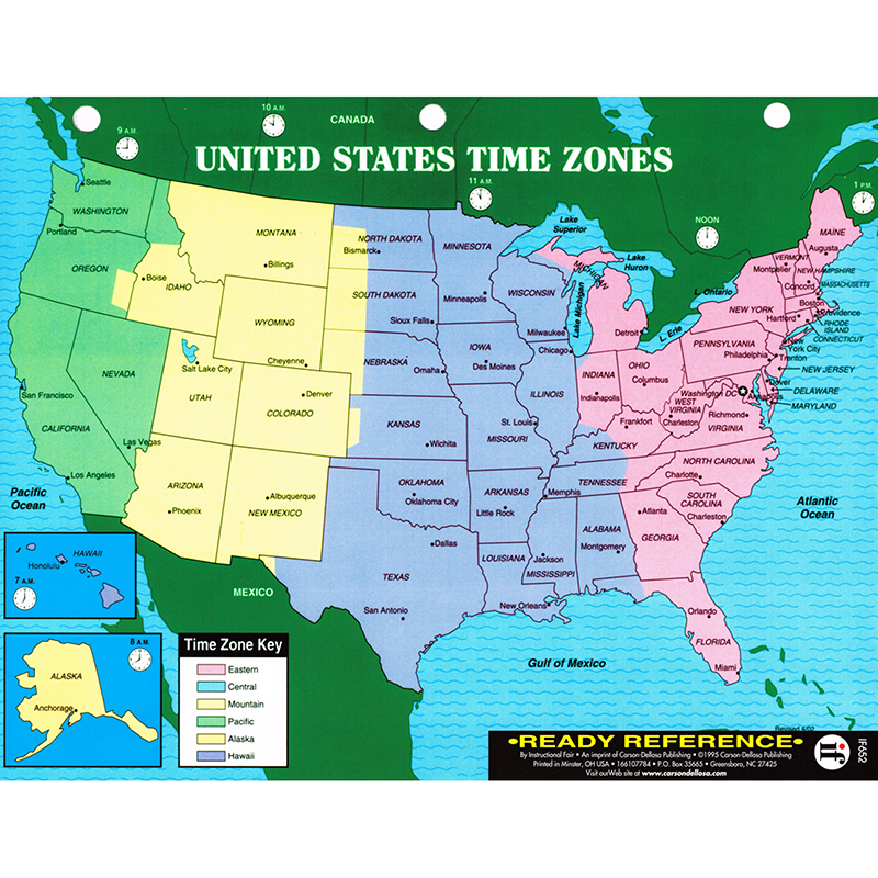 Us World Maps Learning Card X Laminated Map Skills - 8 1 2 x 11 us map