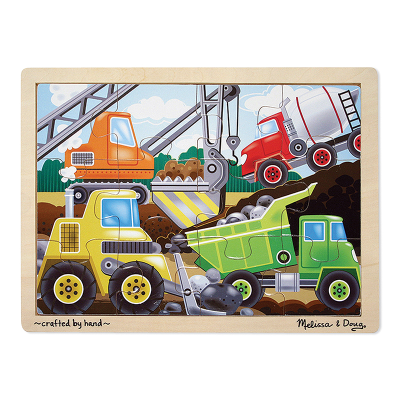 Wooden Jigsaw Puzzles Construction