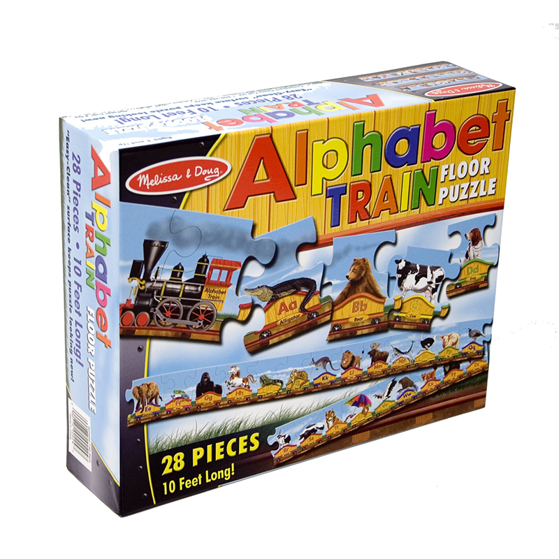Floor Puzzle Alphabet Train