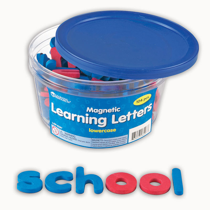 Magnetic Learning Letters Lowercase