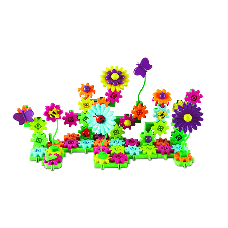 Build And Bloom Flower Garden Gears