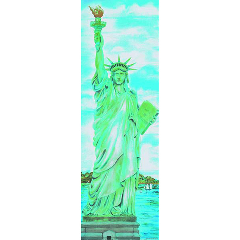 Colossal Poster Statue Of Liberty Gr 4-9& Up Over 5-1/2 Tall