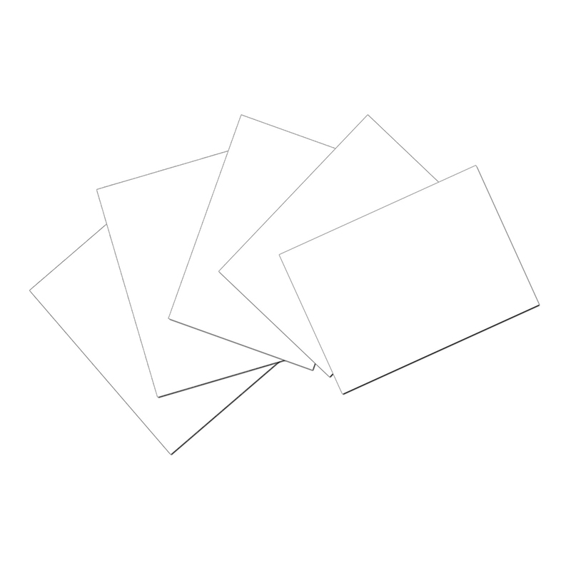 Index Cards 4 X 6 Plain