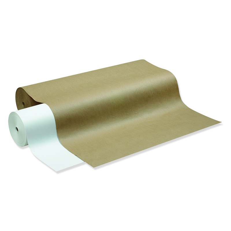 White Kraft Paper 24in Wide Roll