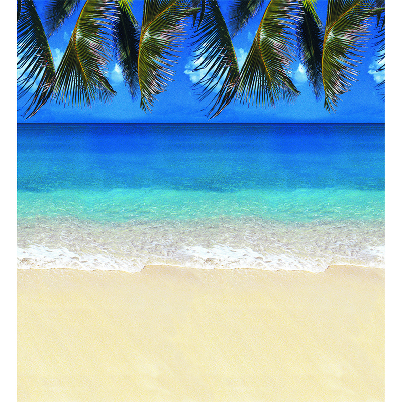 Fadeless 48x50 Roll Tropical Beach Boxed