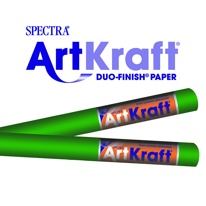Art Kraft Roll 48 X 200 Emerald Grn