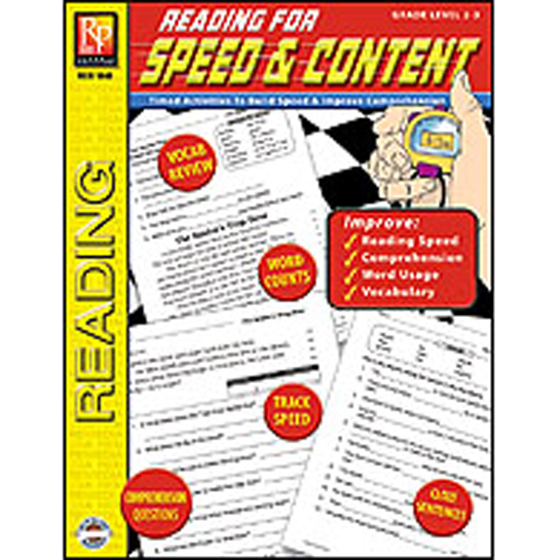 Reading For Speed & Content Gr 2-3