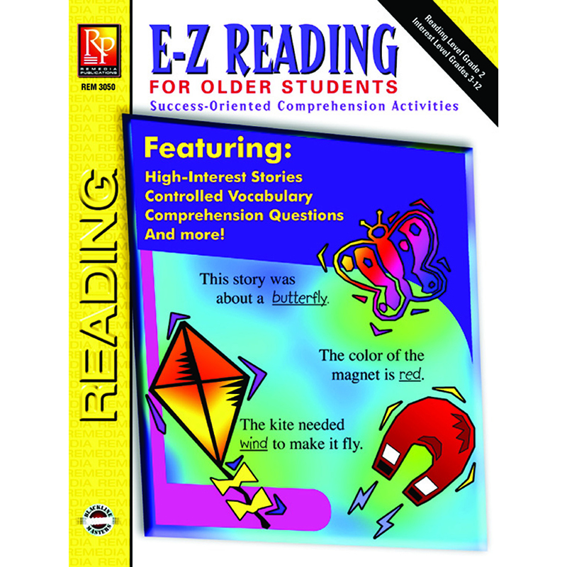 E-Z Reading For Older Students