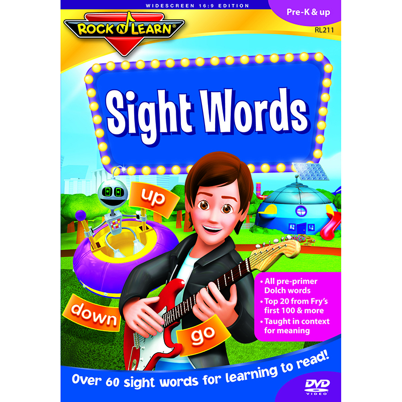 Sight Words Vol 1 Dvd
