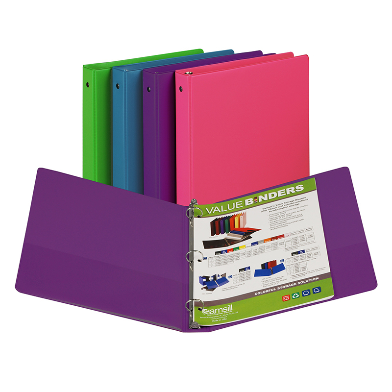 Samsill® Fashion Color Binder 1in Capacity