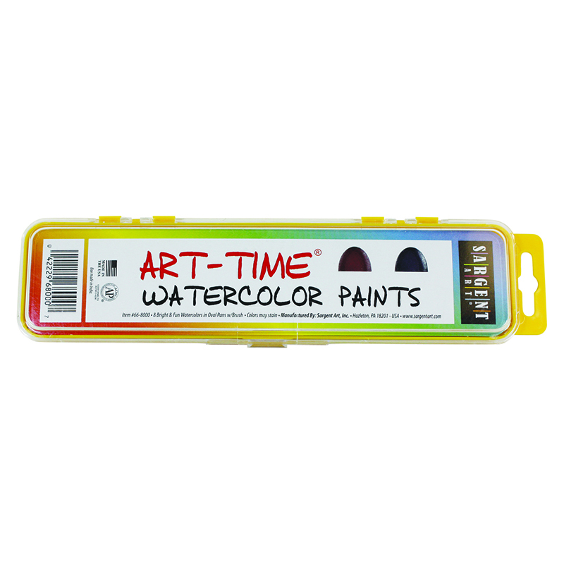 Sargent Art 8 Semi Moist Watercolor Set