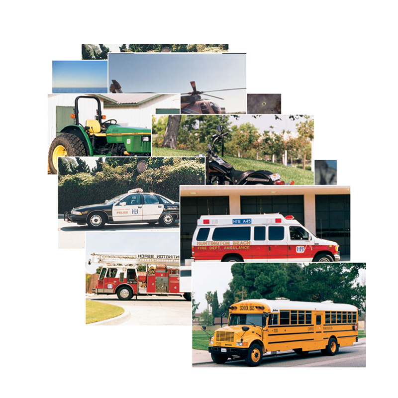 Vehicles 14 Poster Cards