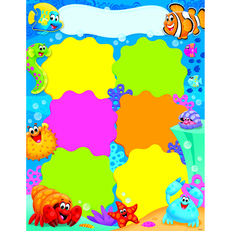 Job Chart Sea Buddies Learning Chart