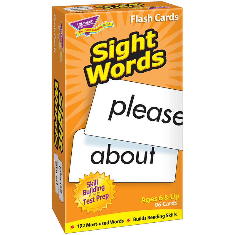 Flash Cards Sight Words 96/box
