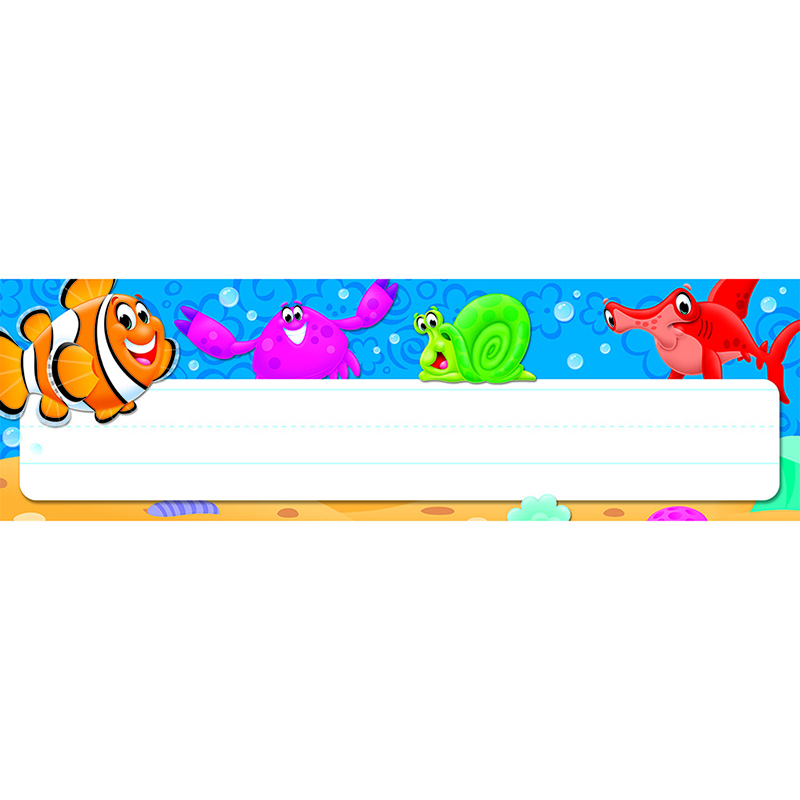 Sea Buddies Desk Toppers Name Plates
