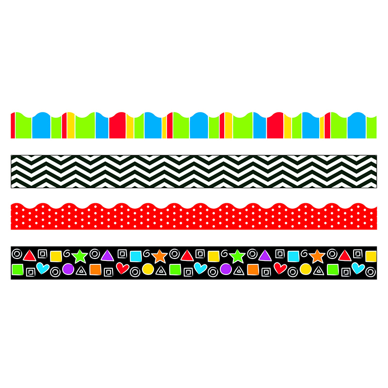Stripes & Shapes Border Variety Pack