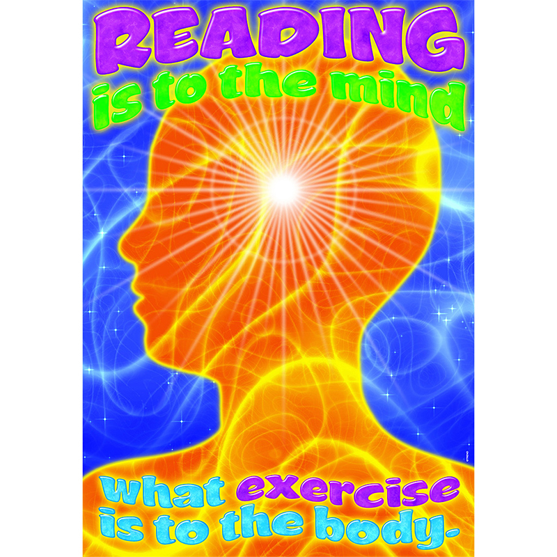 Reading Is To The Mind What Exercise Is To The Body Lrg Poster