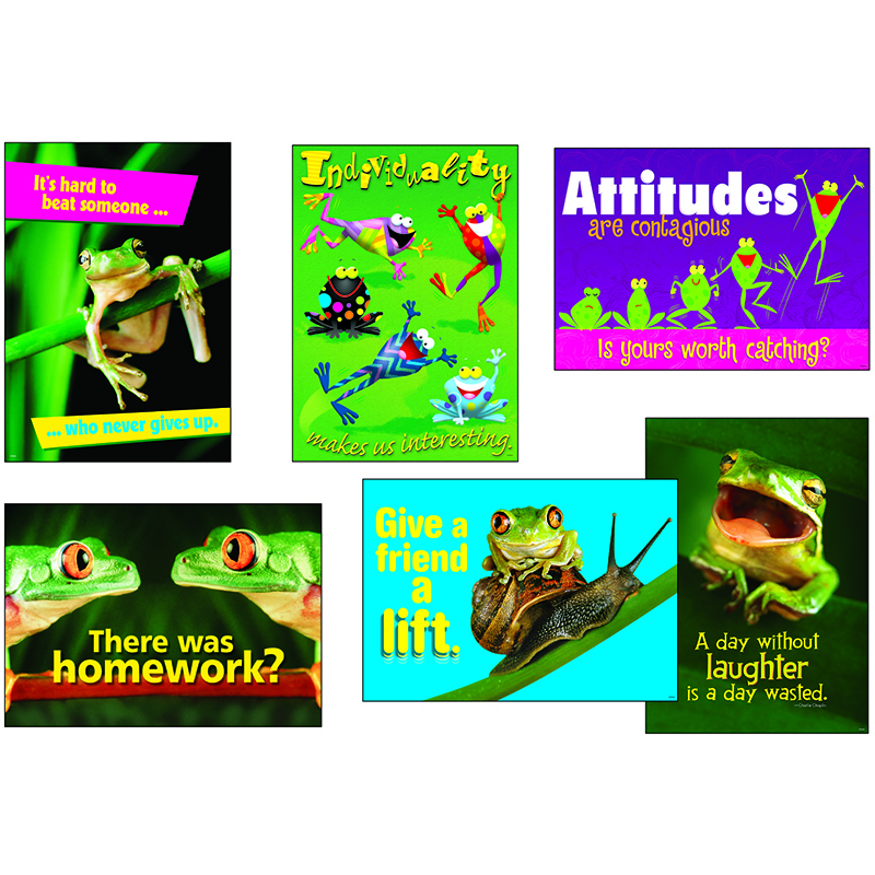 Awesome Attitude Frogs Combo Sets Argus Posters