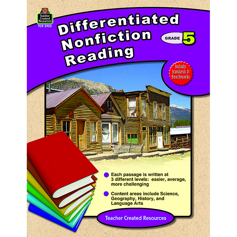Differentiated Nonfiction Reading Gr 5