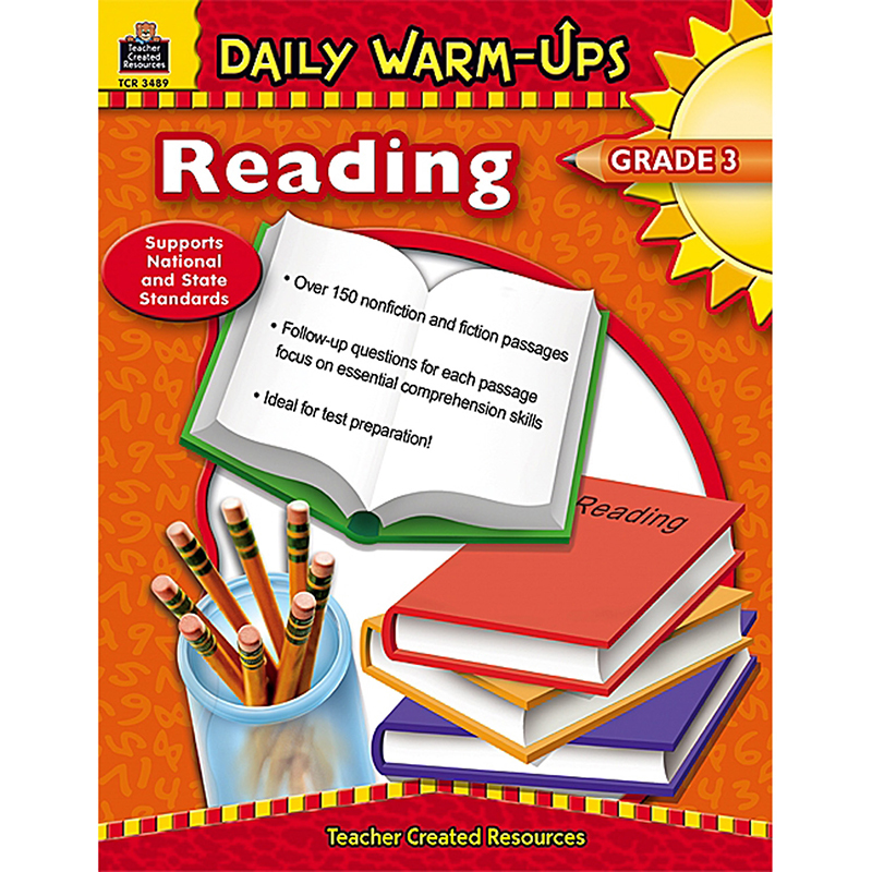 Daily Warm-Ups Reading Gr 3