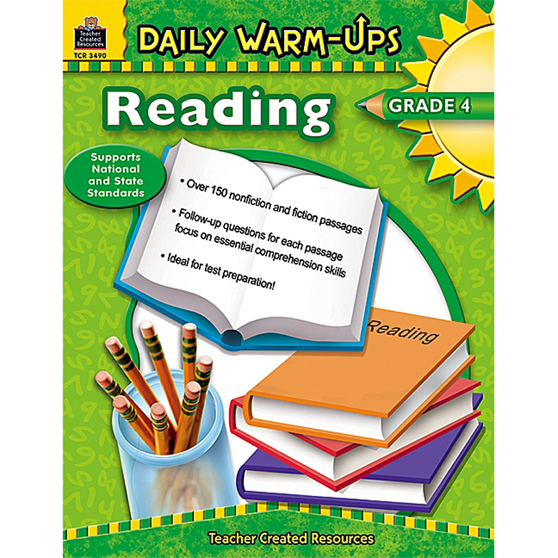 Teacher Created Resources Daily Warm-Ups Reading Gr 4