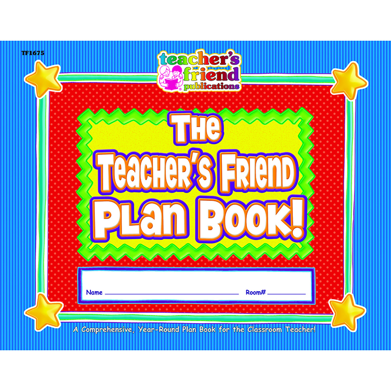 The Back To School Plan Book Gr K-5 40 Weeks 9-1/2 X 12