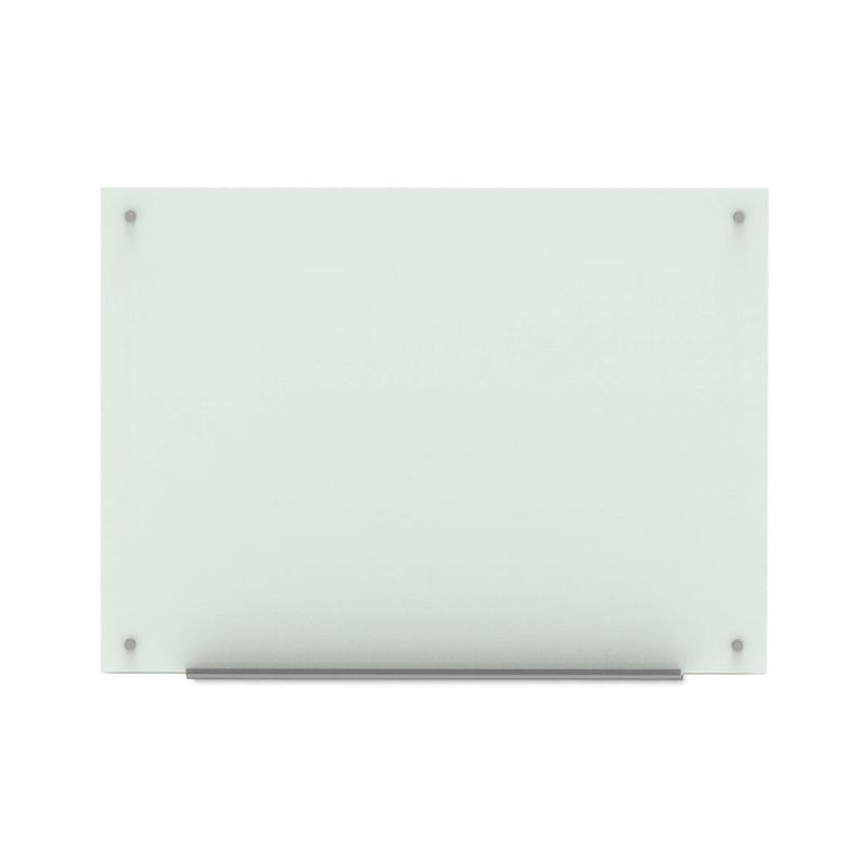 "Luxor 48""W x 36""H Magnetic Wall-Mounted Glass Board"