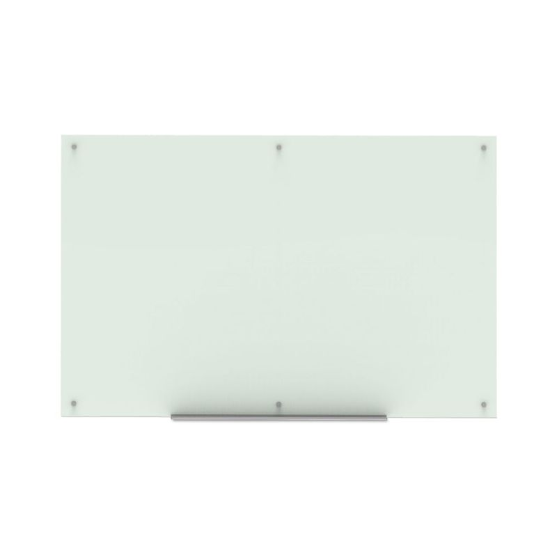 "Luxor 72""W x 48""H Magnetic Wall-Mounted Glass Board"