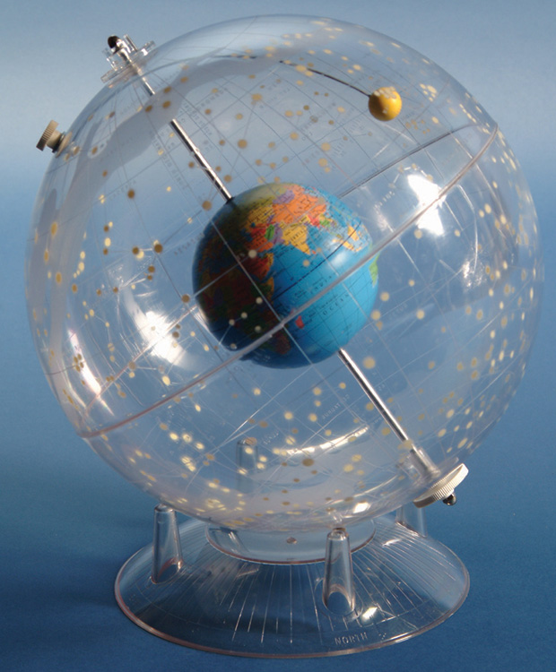 Scott Resources & Hubbard Scientific Celestial Star Globe: Basic, Transparent