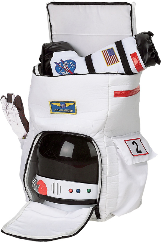 Aeromax Astronaut Back Pack-Open
