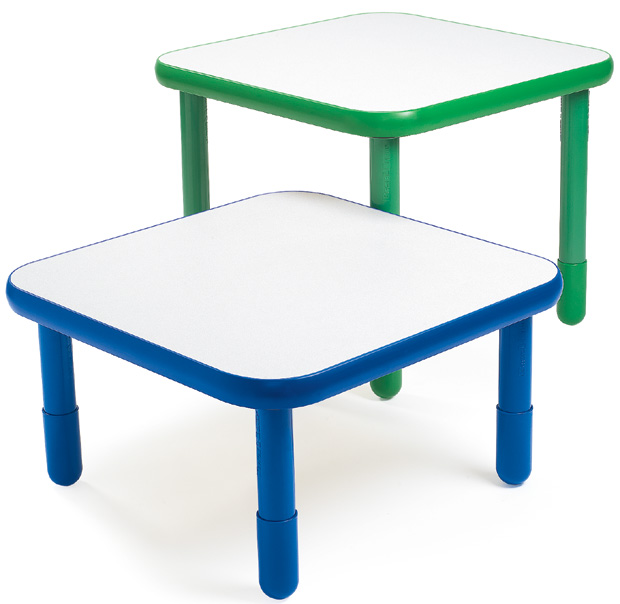 "Angeles Baseline 30"" X 30"" Square Table"