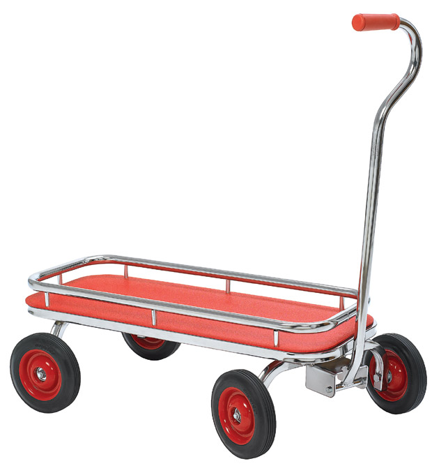 Angeles Silver Rider Red Wagon