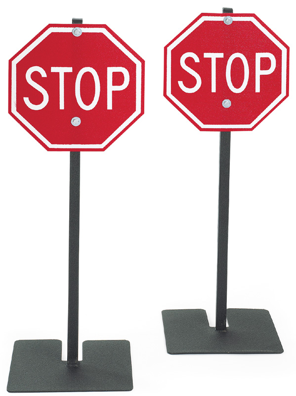 Angeles Stop Sign: Pack of 2