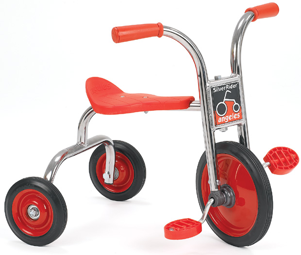 "Angeles 10"" Pedal Pusher ClassicRider Trike"