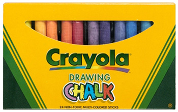 Crayola Crayola Colored Drawing Chalk 24pk