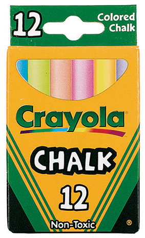Crayola Crayola Colored Low Dust Chalk