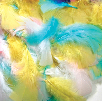 Creativity Street® Feathers Spring Colors