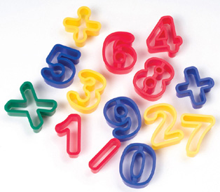 Creativity Street® Dough Cutters Numbers