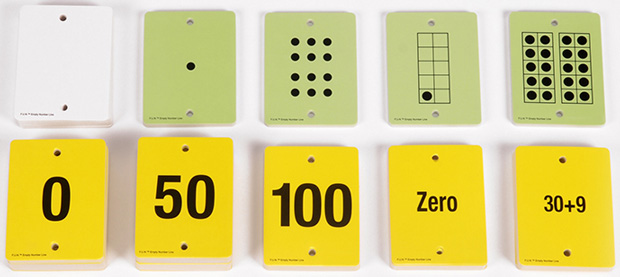 Fun Empty Number Line Cards Only Gr K-1