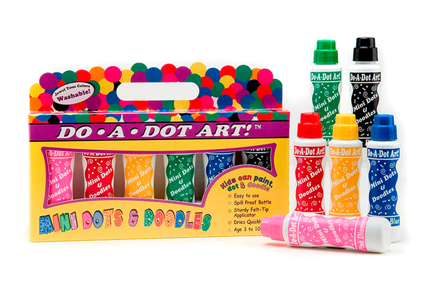 Do A Dot Markers 6pk Mini Jewel Washable Tone