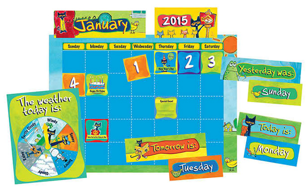 Pete The Cat Calendar Kit