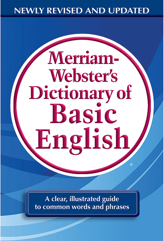 Merriam Webster Dictionary Of Basic English