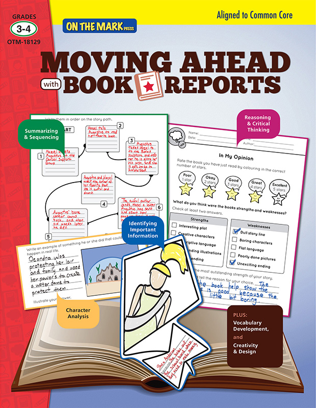 Moving Ahead With Book Reports Gr 3-4